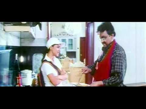 Chirujallu Movie Scenes - SP Balasubramanyam Funny Cooking - Tarun, Richa Pallod