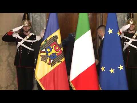Moldovan head of state meets president of Italy