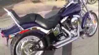9. 088302 - Used 2007 Harley Davidson Softail Custom FXSTC Motorcycle For Sale