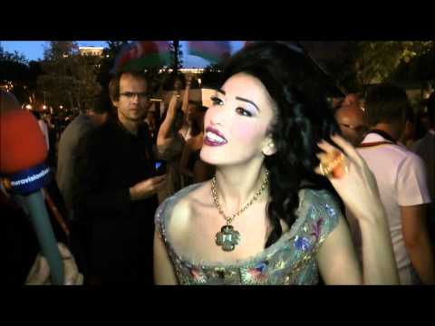 Highlights of the red carpet 2012 (Welcome reception)
