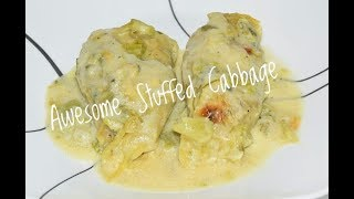 These unique Cabbage Rolls are a must try. Instead of the typical Cabbage Roll Recipe, I decided to make Stuffed Mexican Cabbage Rolls. In lieu of using the typical tomato based Cabbage Rolls, I used a green hatch chile sauce as a topping. I also used green chile, cilantro and cumin to add to this Mexican Themed Cabbage Roll Recipe. This Recipe is a No Hippie BBQ creation. Ingredients For Stuffed Cabbage Rolls:The Meat Mixture* 1 Pound Ground Pork* 1 Medium Size Cabbage (steamed and leaves removed)* 3/4 Cup Chopped Onions* 1/2 Cup Cilantro (To taste)* 1 1/2 Tbsp Minced Garlic* 24 Ounces Hatch Green Chile* 3/4 Cups Cooked Rice* 2 Tsp Cumin* Seasoned with salt, pepper and garlic (To Taste)For The Sauce* 1/4 Cup Flour* 4-5 Tbsp Canola Oil or cooking oil* 2 Cups Milk* 12 Oz. Hatch Green Chiles Chopped * 1/2 Cup Cilantro Chopped (To Taste)* Seasoned with salt, pepper and garlic (To Taste)Subscribe: https://www.youtube.com/channel/UCFEYEmgRDiTZsE2cPfF2uOgFacebook: https://www.facebook.com/nohippiebbqhttps://www.facebook.com/lyle.whitlockTwitter: https://twitter.com/nohippiebbqGoogle+: https://plus.google.com/b/104776977338810471856/+NoHippieBBQCooking/posts?pageId=104776977338810471856Video URL: https://youtu.be/0DfFExK3Wx8Cabbage Roll CasseroleCheck Out these Onion Patties: https://youtu.be/4LvW2oZ1U94
