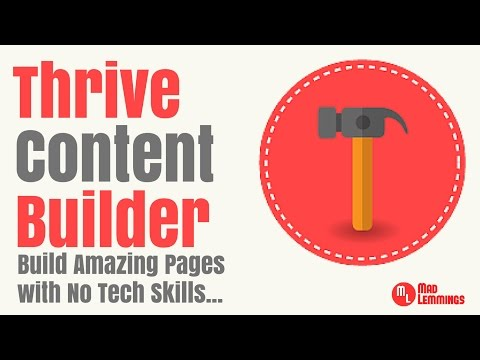 Thrive Content Builder Review & Tutorial - Wordpress Plugin