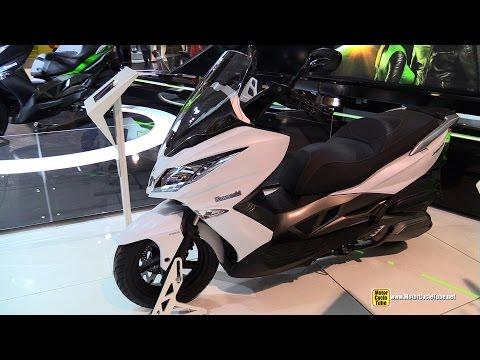 2015 Kawasaki J300 Maxi Scooter - Walkaround - 2014 EICMA Milano Motocycle Exhibition