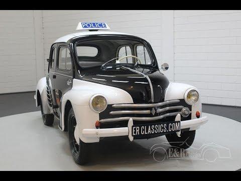 HELLER RENAULT 4 CV 1955 POLICE dite PIE + ACCESSOIRES colle pinceau et peinture
