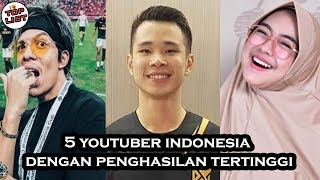 Video 5 Indonesian Youtuber With Highest Income MP3, 3GP, MP4, WEBM, AVI, FLV November 2018