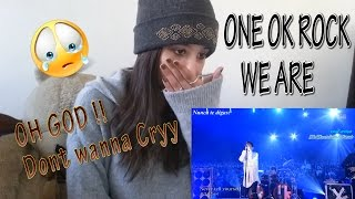 Video ONE OK ROCK 『We are ~18Fes ver.~』 _ REACTION MP3, 3GP, MP4, WEBM, AVI, FLV November 2018