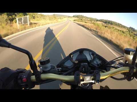 Test Rider CB1000r / Top speed: 225 Km/h na subida de Gramado Xavier