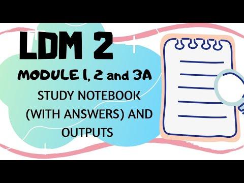STUDY NOTEBOOK - LDM 2