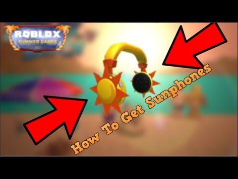 Roblox - How To Get Sunphones [Event]