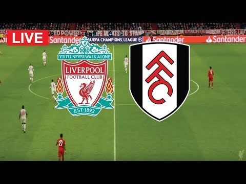 Fulham Vs Liverpool | EPL Live Stream EN VIVO Live Stats + Countdown (English Commentary)