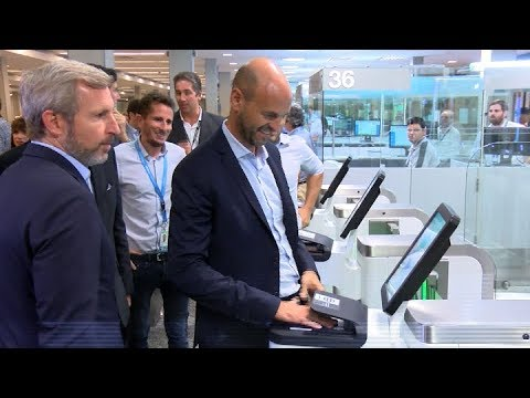 Quedó inaugurado un nuevo sistema automático de migraciones en Ezeiza