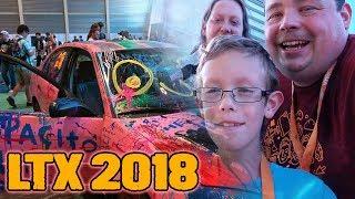 Video Barnacules Family Attends LTX 2018 Tech Expo - LinusTechTips MP3, 3GP, MP4, WEBM, AVI, FLV Juli 2018