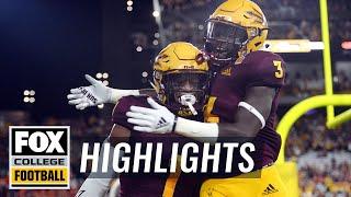 Arizona State vs UTSA | FOX COLLEGE FOOTBALL HIGHLIGHTS