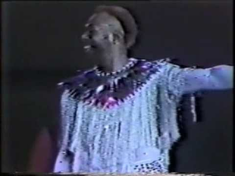 to the stage - The P-Funk All Stars! Live in Houston, 1984.