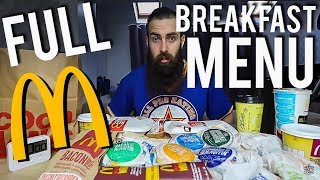 Video The Full McDonald's Breakfast Menu Challenge | BeardMeatsFood MP3, 3GP, MP4, WEBM, AVI, FLV Juli 2018