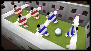 • Minecraft: How to make a Football Table
