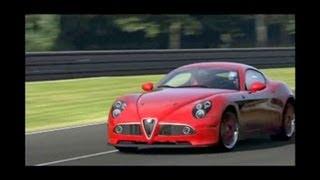 Alfa Romeo 8C Competizione 2008 -458 Kw-1284Kg-Testdrive In LeSarthe-SoundDesign-2&Tuned By Morute