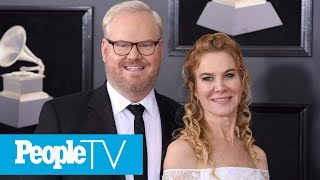 Jim Gaffigan & Wife Jeannie On How Humor Helped Them Cope With Her Brain Tumor Diagnosis | PeopleTV