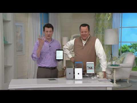 Apple iPad Mini 2 Wi-Fi 32GB w/ Bluetooth Keyboard & ScreenProtector on QVC