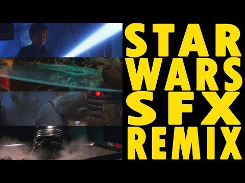 Remix of Sounds Effects From All 8 Star Wars