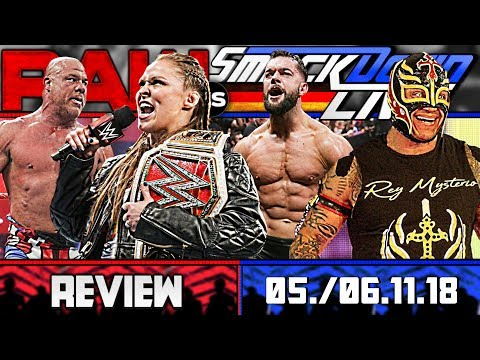 WWE RAW vs. SmackDown Review – STIMMUNG! 🙌 – 05./06.11.18 (Deutsch/German)