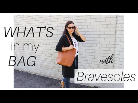 What's In My Bag | Bravesoles | Ethical Handbags |