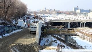 Izgradnja gornjih pristupnih saobraćajnica železničkoj stanici Beograd Centar (Prokop)