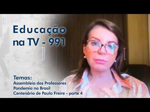 Assembleia dos Professores | Pandemia no Brasil | Especial Paulo Freire - parte 4