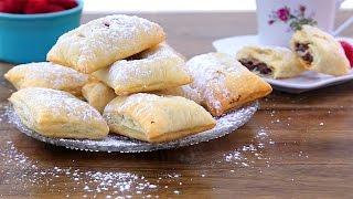 Video de pan relleno de Nutella® y mermelada