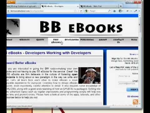 Full eBook Production Workflow Tutorial - EPUB and MOBI/KF8