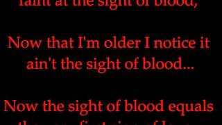 Tech N9ne - Trapped In A Psycho's Body (Lyrics on screen)