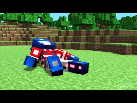 megatron - Enhanced Version: http://youtu.be/8jk693JJNAg Minecraft character skins made by ibloodstormi, and were pulled from the minecraft skindex. Minecraft belongs t...