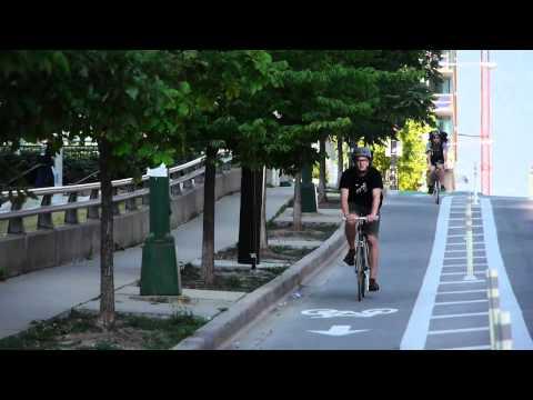 The Kinzie bike lane, Chicago's hipster highway