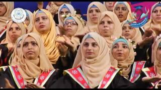 لأول مرة ... نشيد الجامعة الإسلامية بلغة الإشارة