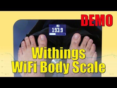משקל דיגיטאלי וויטינגס - Withings