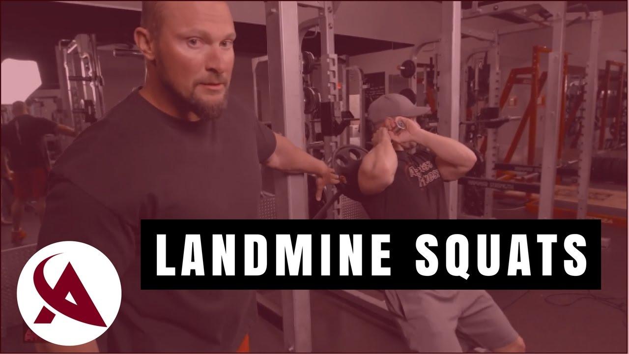 How To Do Landmine Squats