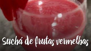 Experimente - Suchá de frutas vermelhas