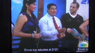 301112Entrevista Doctor Jaime Alberto Recinos Canal 21