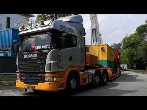 Scania G440 At Work. Zas Group Of Companies.