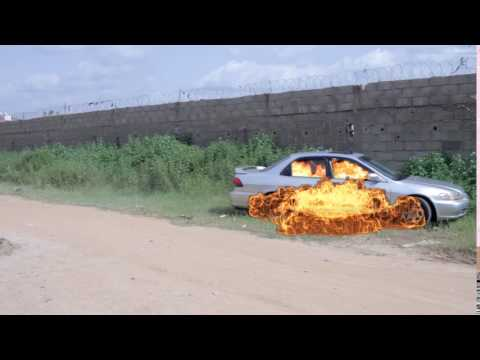 After Effect Ghost On Car Burning In Bilkeesu Hausa Movies 2017
