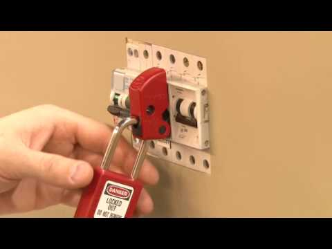 Screen capture of S2394 Mini Circuit Breaker Lockout