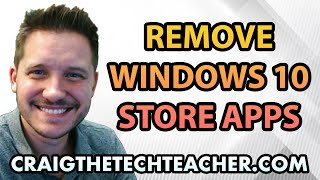 """This video is brought to you by: http://www.craigthetechteacher.com - Windows 10 comes jam packed with many Microsoft Store applications that you may (or may not) want to have. If you don't want an application then it is typically a good idea to uninstall them... but how is this done?This video will walk you through the uninstallation and removal of unwanted Windows 10 Microsoft Store apps. This process can be done in a couple of ways and I will make sure to show you a common error people make when attempting to uninstall their Windows 10 applications.For those of you who don't know the difference, an """"App"""" is a program that was downloaded directly from the Microsoft App store on your Windows 10 computer or tablet. A """"program"""" is a Windows 10 program that was installed with a downloaded (or disk based) installer. Apps tend to have smaller functions than full program software packages."""