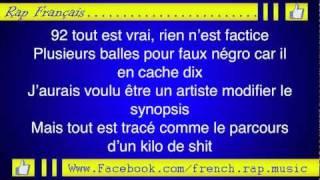 Booba-Paname (Paroles) HD 2011 (Lyrics)