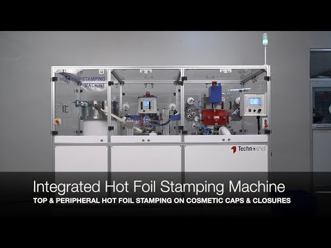 Integrated Machine for Top and Peripheral Hot Foil Stamping