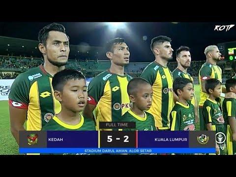 Kedah FA 5 -2 Kuala Lumpur FA (Highlight HD - Liga Super - 3/5/2019)