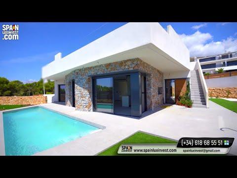 559000€/Новая вилла в Бенидорме/Купить дом в Испании в элитном районе Сьерра Кортина/Дома/Финестрат