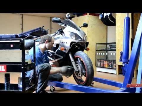 Замена сальника вилки мотоцикла honda фото