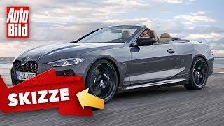 BMW 4er Cabrio (2020): Neuvorstellung - Zukunft - Design by Auto Bild