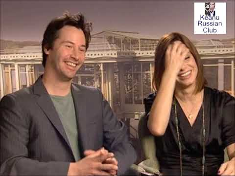 2006 Keanu Reeves and Sandra Bullock / The Lake House / Interviews