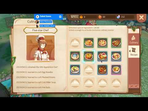 Laplace M S19 - Review Cooking / Cuisine Recipe Level 1 - 15